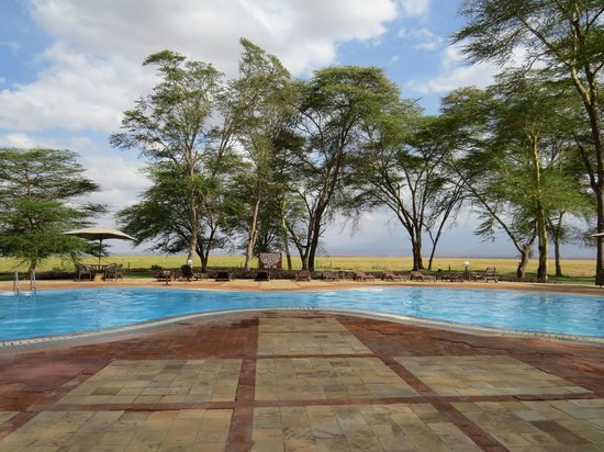 Ol Tukai Lodge: Pool