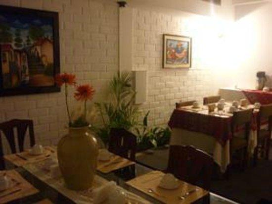 Casa Bella Miraflores : Zona de Desayuno