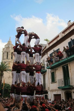 Hotel MIM Sitges: Human Towers