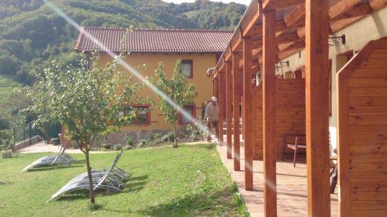 rurales balcon real jacuzzi jardn