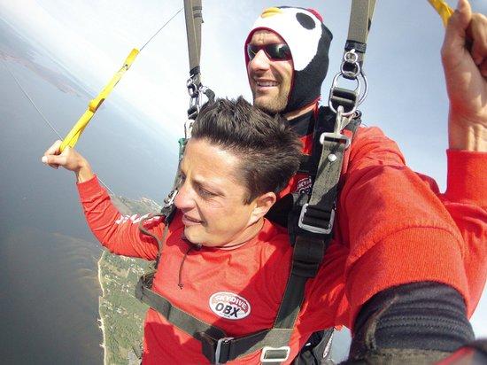 Skydive OBX: Parachute open