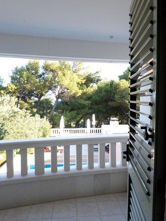 Hotel Villa Daniela: Balcony view
