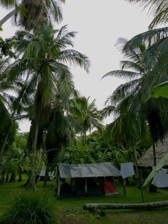 Camping Tayrona: Camping Don Pedro.