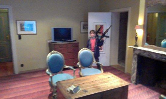 Hotel Martin's Relais : salon de la suite 14