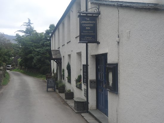 The Langstrath Country Inn: nice surroundings