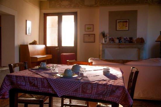 Agriturismo Il Rigo: Breakfast room