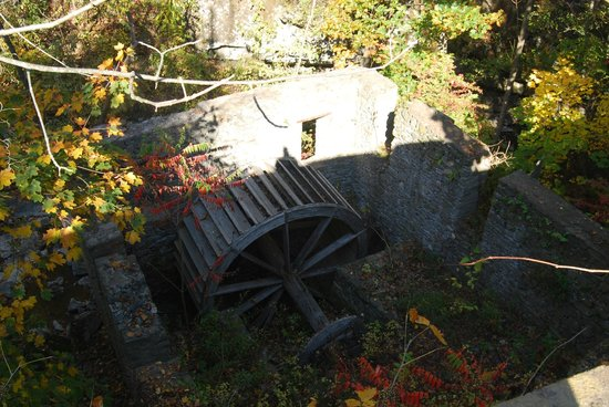 Seamon Park: Ruins of Grist Mill