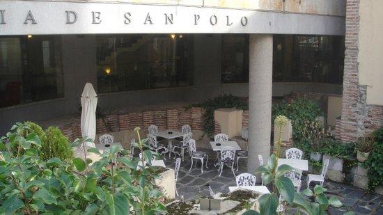 San Polo: The Patio Area