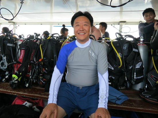 Heart & Soul Divers: Me. Just before my first Dive