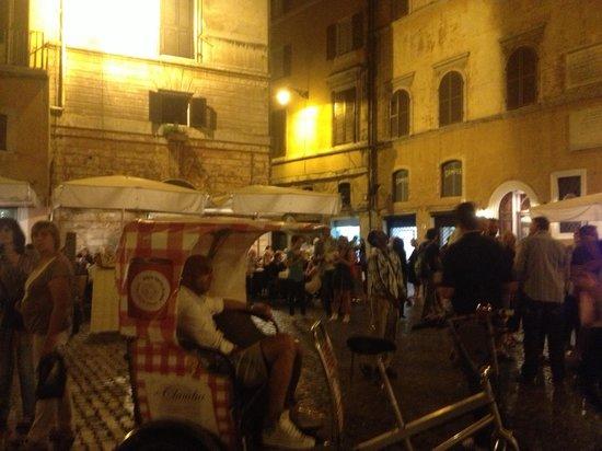 Villa Il Trebbio : Dinner/ wine tasting in Cortona