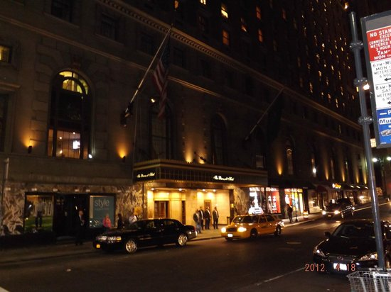The Roosevelt Hotel: gran entrada