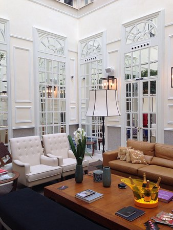 Only YOU Boutique Hotel Madrid : Hall
