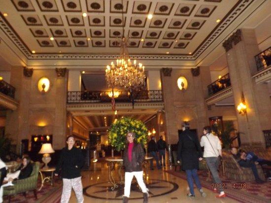 The Roosevelt Hotel: araña