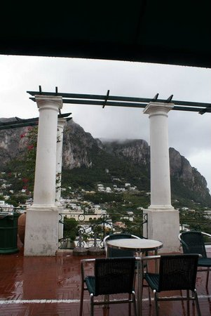 Bar Funicolare: View from front of restaurant