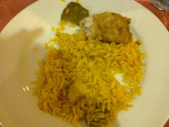 IBEROSTAR Club Palmeraie Marrakech: riz pas cuit