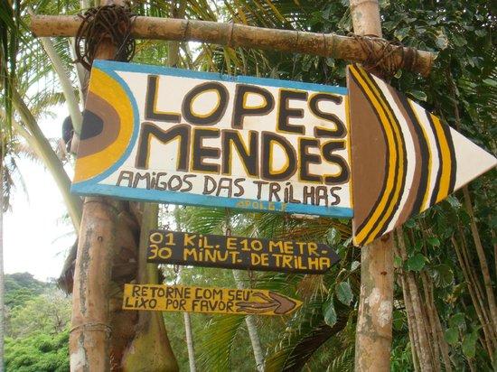 Ilha Grande, RJ: Trilha para Lopes Mendes