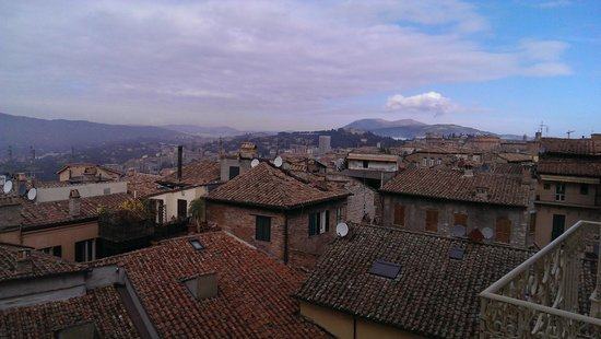 Sina Brufani: View from the room