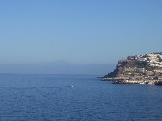 Club Gran Anfi : View over to Tenerife from balcony