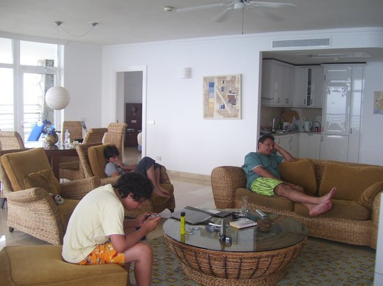 Club Gran Anfi: Main living area of apartment