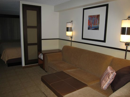 Hyatt Place Denver Airport: Sitting area