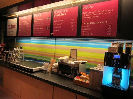 aloft Denver International Airport: Breakfast/ Food area