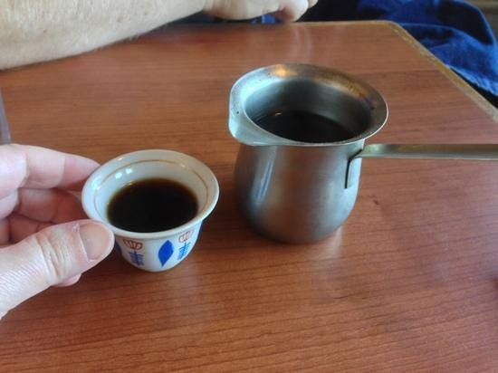 Paprika Cafe : Turkish coffee - cute and tasty!