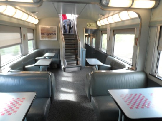 This is berth section picture of via rail canada Via rail canada cabin for 2