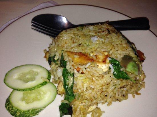Drunken Sailors : Green curry fried rice. Just ok.
