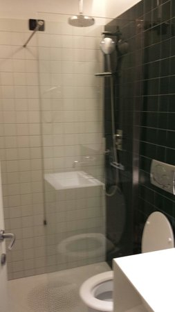 The Yellow Hotel: Washroom