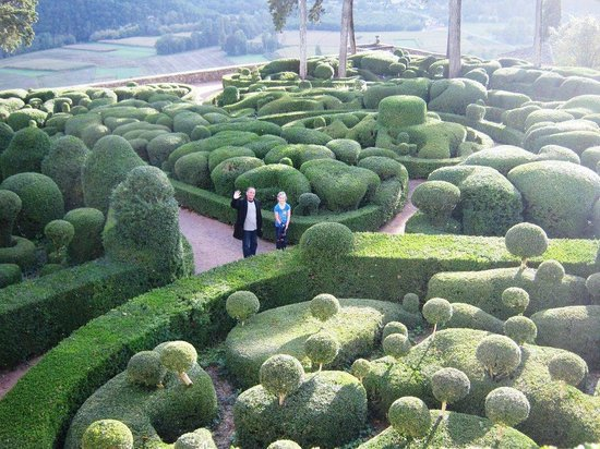 Hôtel La Couleuvrine : The gardens of Marqueyssac, Dordogne