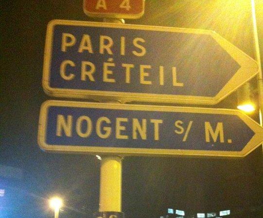 Ibis Paris Marne La Vallee Noisy: Otelin bulınduğu nokta
