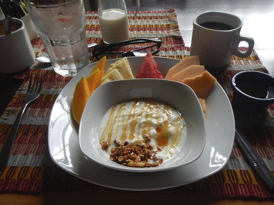 Black Rock Lodge: Breakfast!