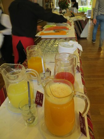 Hotel Jose Antonio Cusco: Great variety of breakfast choices