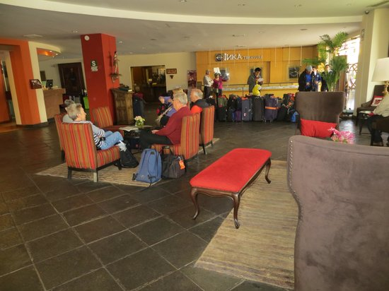 Hotel Jose Antonio Cusco: Comfortable lobby