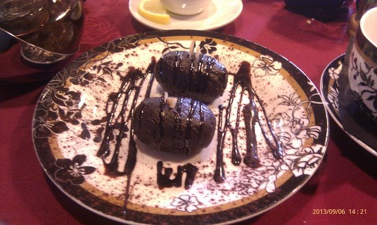 Russian Tea Room: Potato Cake
