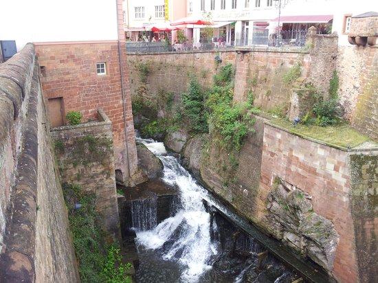 Saarburg Waterfall: waterfall