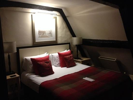 Best Western Plus Angel Hotel: character bedroom in the beamed roof