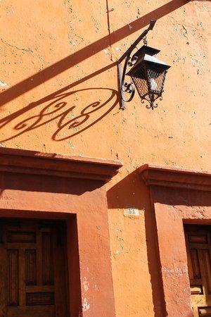Real de Minas San Miguel de Allende: Arquitectura de San Miguel