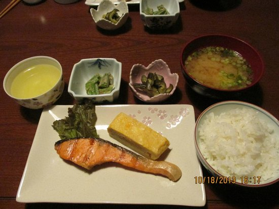Guesthouse Sakuraya: The excellent included breakfast! Highly recommend!