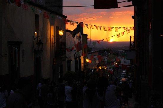Real de Minas San Miguel de Allende: Atardecer