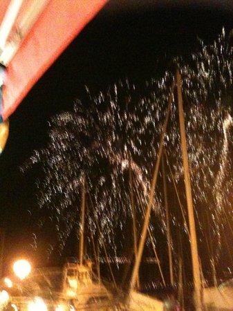 Le Pacha : feu d'artifice FETE VENITIENNE