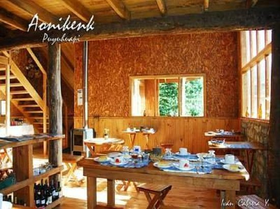 Aonikenk-Puyuhuapi Ecoturismo: Comedor Aonikenk
