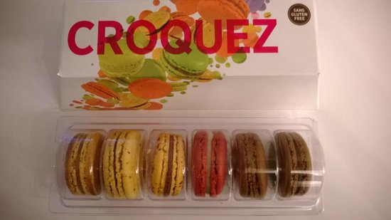 Point G : Macarons