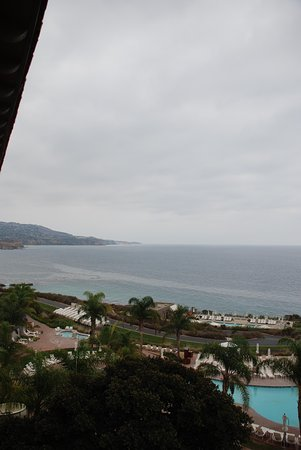 Terranea Resort : view from ocean view room - 7th floor, main building