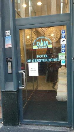 Hotel De Gerstekorrel: Any port in a storm?