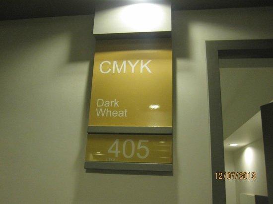 Myhotel Cmyk@Ratchada: entrée de la chambre