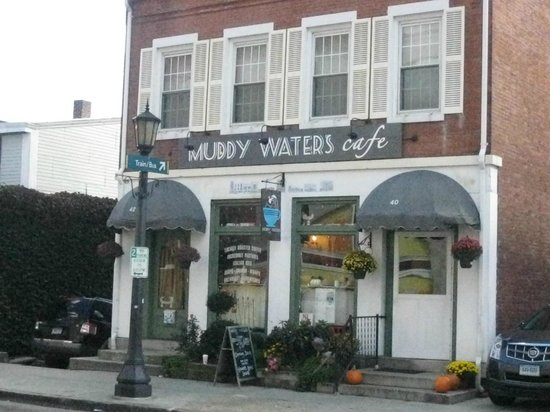 Muddy Waters Cafe: Entrance