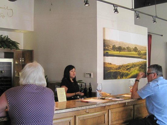 Central Coast Food Tours: One of several wine bars.