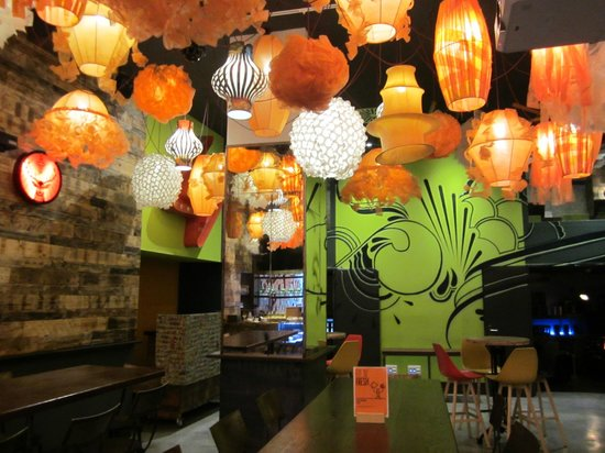 Generator Hostel Barcelona: Great decoration!