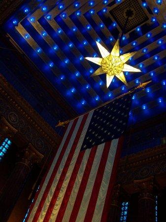 Indiana War Memorial : Shrine Room